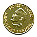 George C Wallace Campaign Coin Token