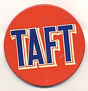 Robert Taft Button (Image1)