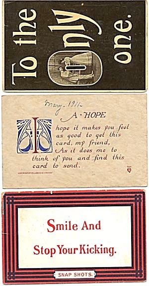 Vintage Quote Postcards (Image1)