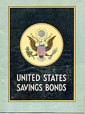 Vintage U.S. Savings Bonds Booklet (Image1)
