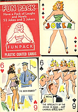 Vintage Fun Pack Naughty Deck Of Cards