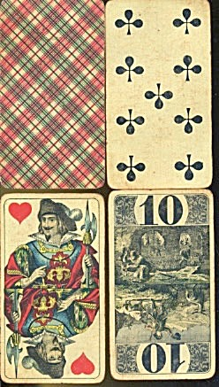 Cego-karte Nr. 49 Ass Fortune Telling Cards