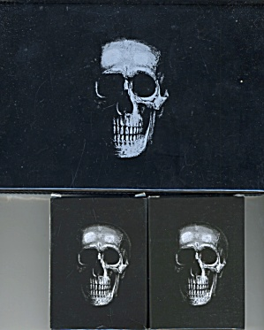 Vintage Double Deck Skull Playing Cards