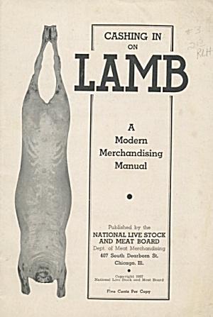 Cashing in on Lamb a Modern Merchandising Manual (Image1)