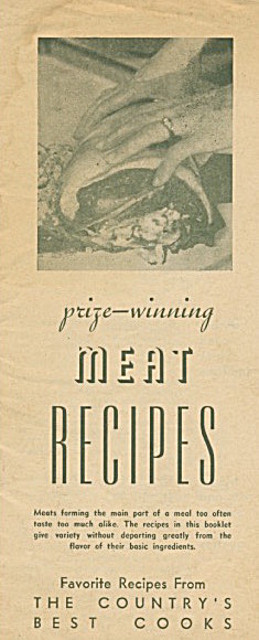 Prize-wining Meat Recipes