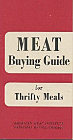 Meat Buying Guide For Thrifty Meals