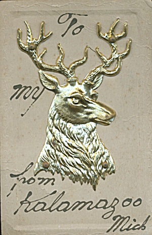 Stag Add - On Postcard