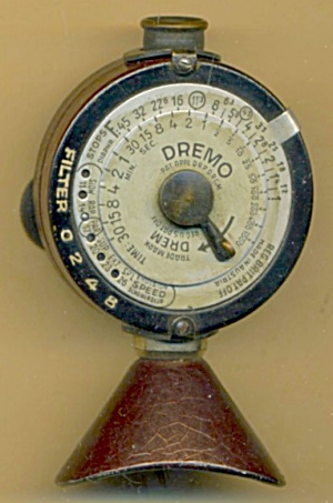 Vintage Dremo Drem Light Meter