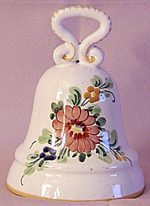 Italian Pottery Bell (Image1)