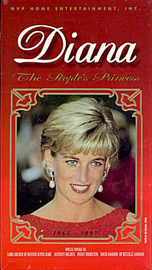 Vhs: Diana The Royal Princess 1961 - 1997