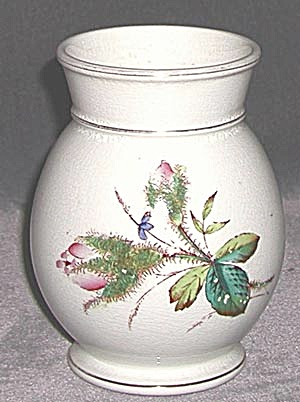 Antique Moss Rose Vase (Image1)