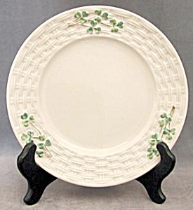 "Vintage Irish Belleek 7"" Shamrock Plate (Image1)"