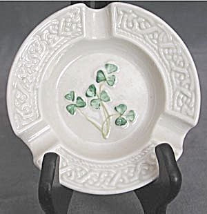 Vintage Irish Belleek Ashtray (Image1)