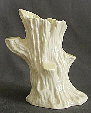 Irish Belleek Tree Trunk Vase Belleek At Silversnow Antiques And More
