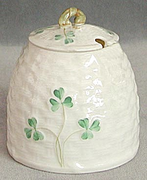 Vintage Irish Belleek Condiment (Image1)