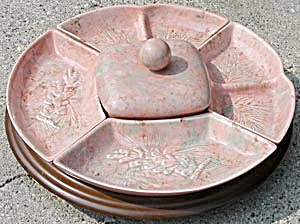 Vintage Enchanto Chip & Dip Set on Lazy Susan (Image1)