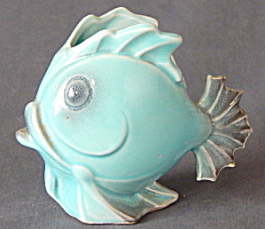 Vintage Art Deco Fish Planter