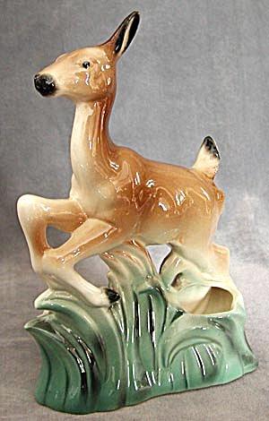 Vintage Deer Double Planter (Image1)