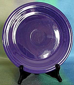 """Vintage Cobalt Fiesta 9 1/2"""" Plate (Image1)"""