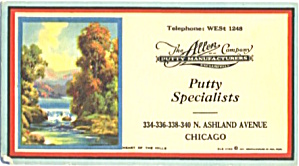 The Allen Co. Putty Specialists