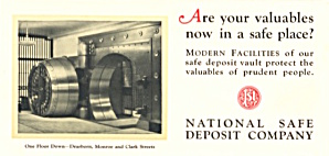 National Safe Deposit Company