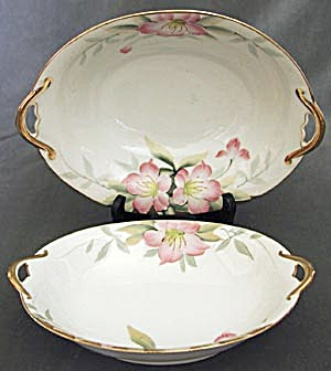 Vintage Noritake Azalea Oval Vegetable Handeled Dishes (Image1)