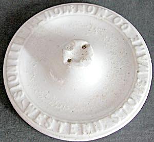 Vintage Monmouth Stoneware Lid (Image1)