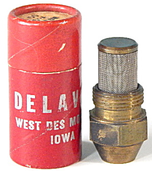Vintage Delavan 1.50 Gph 45° Hollow Oil Burner Nozzle
