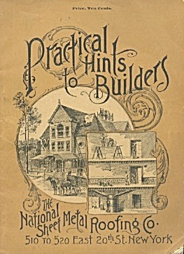 The National Sheet Metal Roofing Co. 1890 Trade Catalog