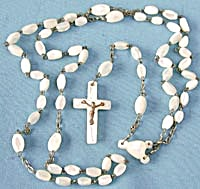 Vintage Mother of Pearl Rosary (Image1)