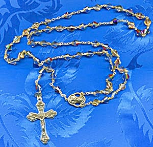 Crystal Czech Rosary (Image1)