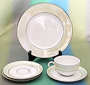 Vintage Rs Germany Luster Group Of Dishes