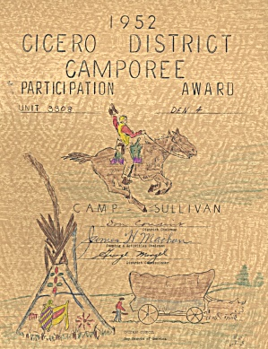 Vintage Boy Scout Award Camporee