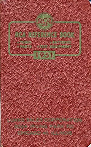 RCA Reference Book (Image1)
