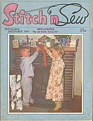 Vintage Stitch & Sew Magazine 1969 (Image1)