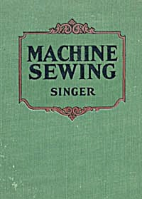 Singer Sewing Machine Book (Image1)