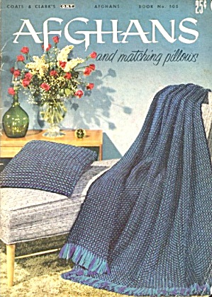 Afghans And Matching Pillows Pattern Book
