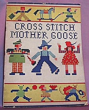 Vintage Mother Goose Cross Stitch Book (Image1)