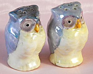 Luster Owls Salt And Pepper