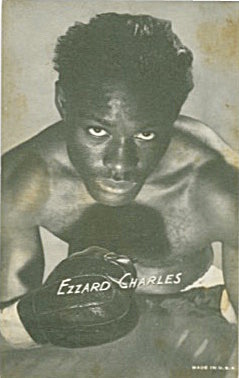 Ezzard Mack Charlesb Boxing Exhibit Card