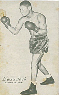 Beau Jack Boxing Exhibit Card (Image1)