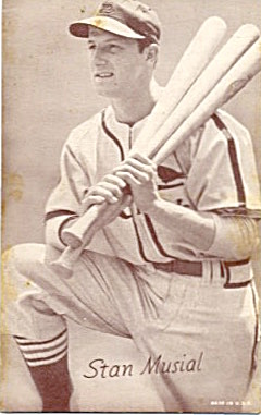 Stan Musial St. Louis Cardinals Card