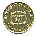 Meadow Gold University Illinois Fighting Illini Token