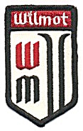 Wilmot Mountain Ski Resort Skiing Patch