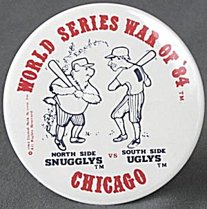 Vintage World Series War Of '84 Pin (Image1)