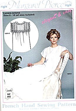 Patterns for Nightgowns, Bloomers, Underclothing