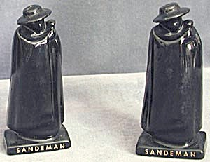 Sandeman Cream Sherry Black Caped Men Salt & Pepper (Image1)