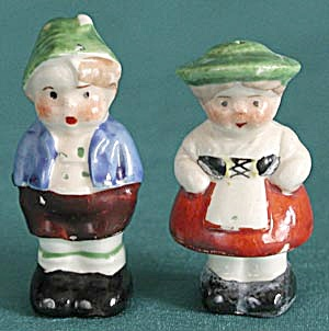 Vintage Chez Couple Salt & Pepper Shakers
