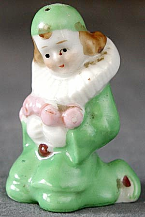 Vintage Clown Salt Shaker