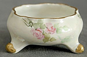 Vintage Hand Painted Open Salt Dip (Image1)